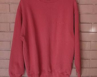 Vintage Dockers sweatshirt embroidery/medium/red/casual
