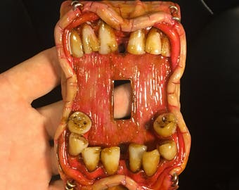 Moldy Switch Plate (molar)