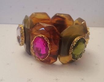 JOAN RIVERS Crystal Stone Comfort Bracelet