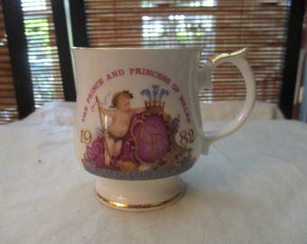 Commemorative Cup for the  Birth of Prince William to The Prince and Princess of Wales (1982)