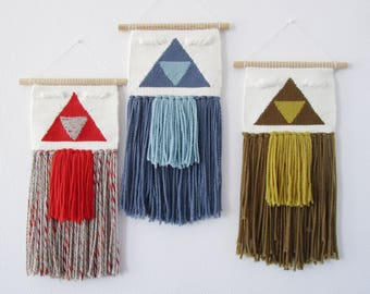 Woven wall hanging weaving tapestry decoration deco
