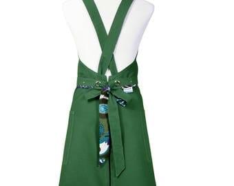 Cute cotton woman apron