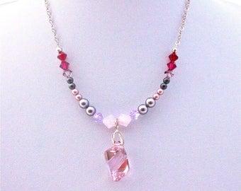 Bridal cabochon and swarovski pearls