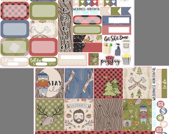 Wilderness - Erin Condren Horizontal Mini Kit