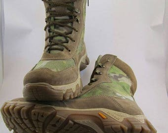Army Tactic Sneakers Boots Multicam Comfort Leather and Cordura Combat Military shoes