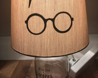 Inspired Harry Potter lamp