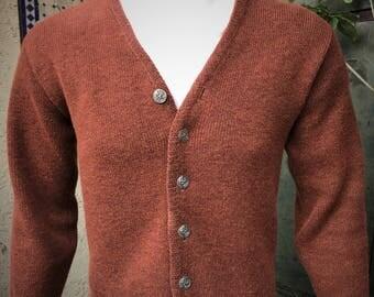 Brown wool sweater   Etsy