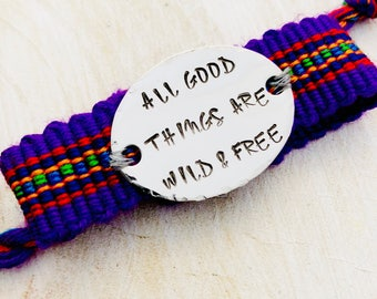 All good things are free and wild.
