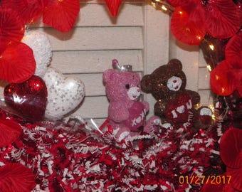 "Wreath, Holiday, Valentines 16"" backlight"