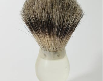RMWS Original Lathe Spun Shaving Brush (Finest Badger)