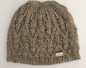 Hand knitted woman Hat
