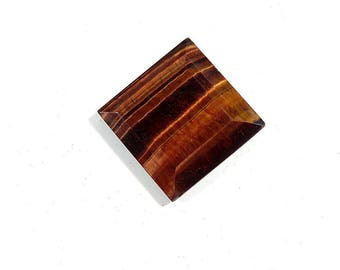 21Cts Red Tiger Eye Cabochon Loose Gemstones Square Shape Excellent!!! Top Quality Natural Red Tiger Eye For Jewelry Making 21X21X4mm