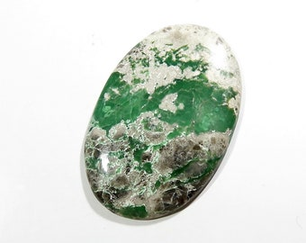 Variscite Cabochon Loose Gemstones Oval Calibrated Size Gems Top AAA Quality Natural Variscite Gemstone For Jewelry Making 60X39X6mm 102Cts