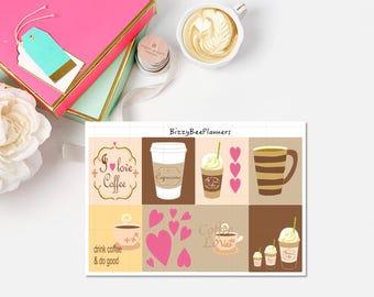 Coffee Love Fullboxes-ECLP-Happy Planner
