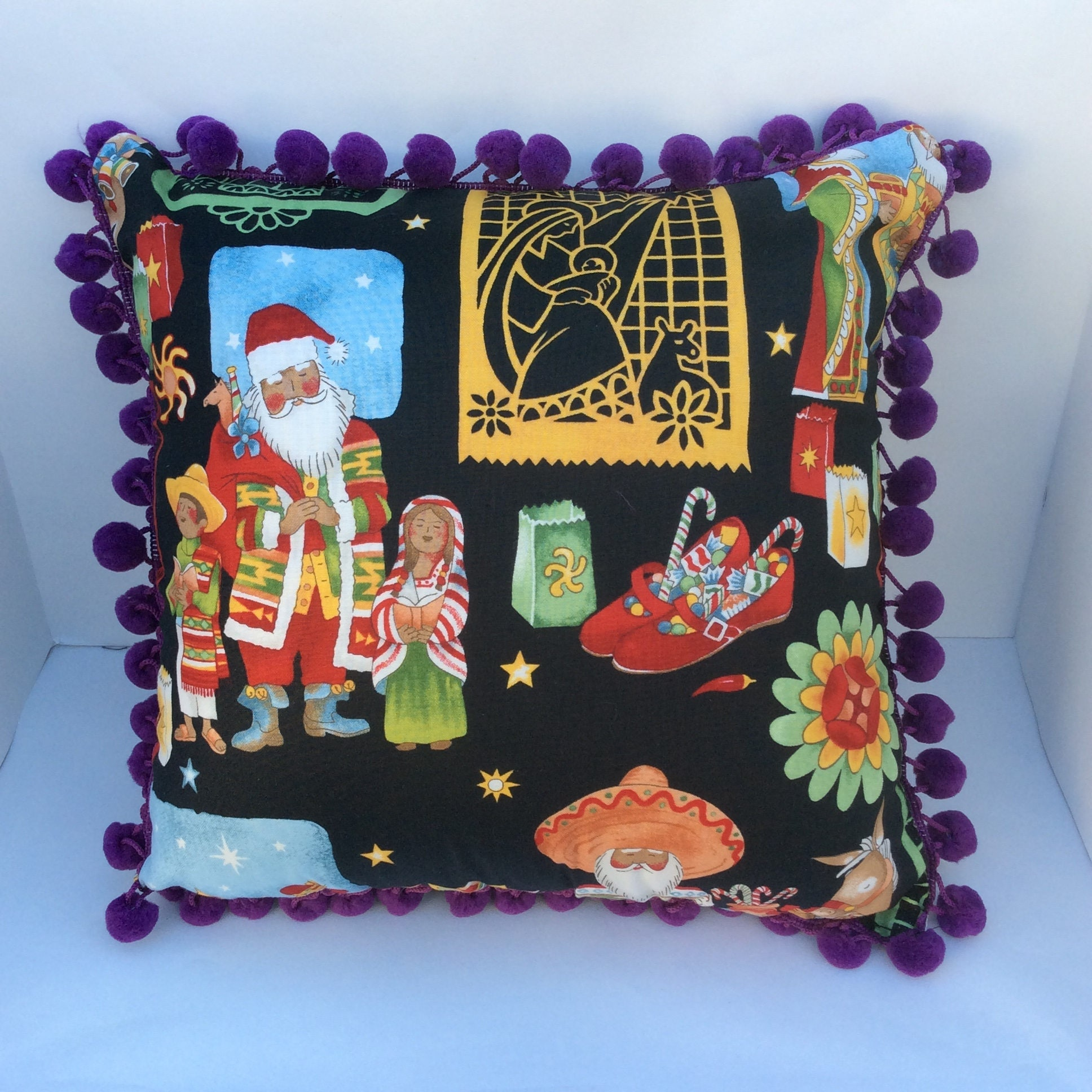 Christmas Decorative Pillow Cases : Holiday pillow Christmas pillow holiday decor pillow case