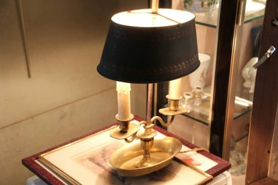 Like this item? - French Antique Desk Lamp Bouillotte Bouillotte Lamp French