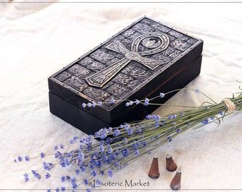 Tarot Wood Box | Wicca