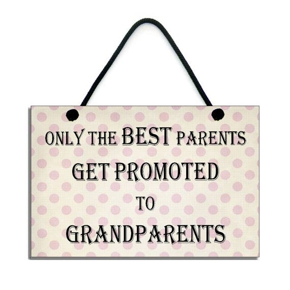 Handmade ' Only The Best Parents Get Promoted ' Home