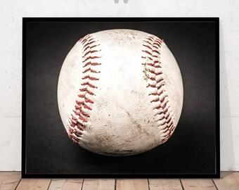 Modern Art Photography, Modern Art Print, Baseball Print, Sports Print, Sports Wall Art, Sports Decor, Baseball Decor, Baseball Home Decor