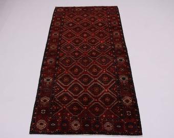Dazzling Pattern Rare Size Turkoman Balouch Persia Rug Oriental Area Carpet 6X12
