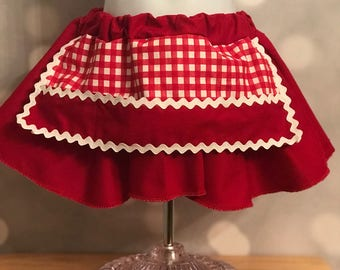 Artist Treasure Trove Apron Skirt - art skirt - pocket - girl outfit - toddler art - toddler apron - girl apron - chef