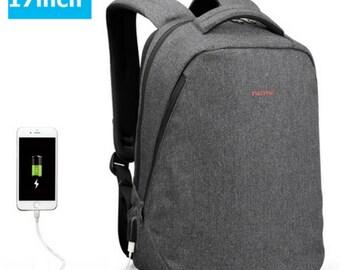 17 inch School Bag with USB port