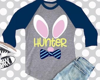 Easter svg, Boys easter, svg, Kids easter shirt, rabbit SVG, DXF, EPS, rabbit face, bunny svg, bunny cut file, shortsandlemons, svg files
