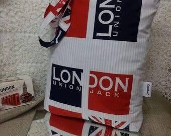 Bag tote bag John C london theme.