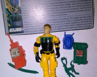 Vintage GI Joe Action Figure Light Foot  ***1980's-Early 1990's****** Check Out My other Listings