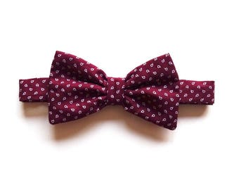 Gift for Valentine's day-CHARLIE mens adjustable bowtie