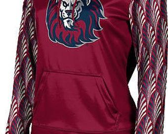 ProSphere Girls' Loyola Marymount University Deco Pullover Hoodie (LMU)