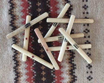Mah Jong counting sticks - Bone