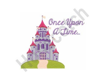 Fairy Tale Castle - Machine Embroidery Design