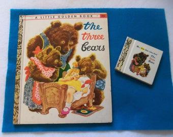 Three Bears Golden Book