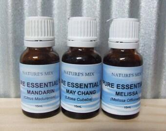 Pure Bergamot Essential Oil **15mL**