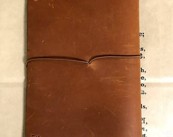 The 5th Anniversary of Traveler's Notebook  Camel Regular size Limited Leather Cover Rare from Japan Free Shipping Mint (Unused) Condition