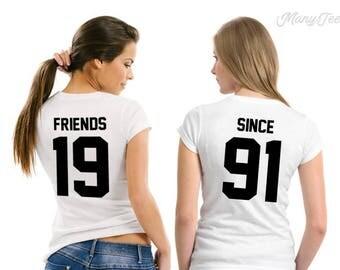 Best friends shirts best friends matching shirts best friends tshirts best friends t shirts funny best friends shirts sisters shirts sister
