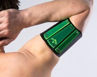 Poison Green (UV) Renegade Upper-Armband