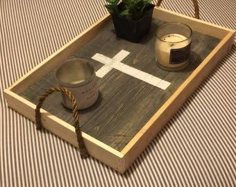 Decorative tray or TV tray