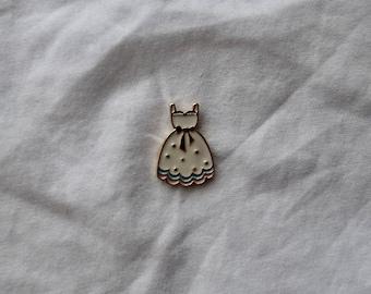 Pin-up Dress Enamel Pin