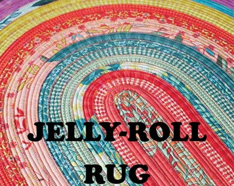 Jelly Roll Rug Pattern - RJD 100 - RJ Designs rug pattern