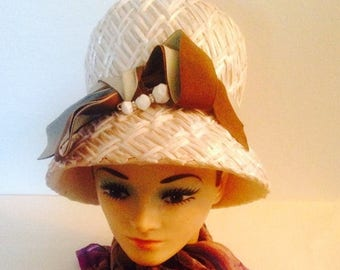 On Sale Lovely Vintage Woven Hat