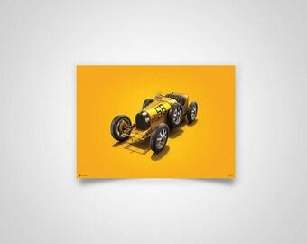 Colors of Speed - Bugatti T35