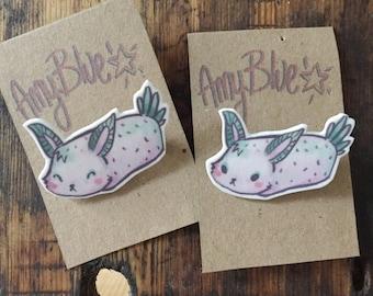 Sea Bunny Brooch