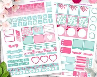Printable Planner Stickers, Weekly Planner Stickers, Happy planner and MINI happy planner