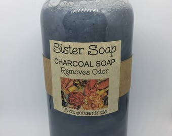 Charcoal Liquid Soap