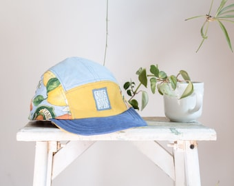 THE LEMONADE HAT - Colorclash Collection2017 - Handmade 5panelhat