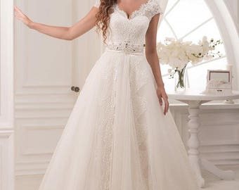 Wedding dress ''Kira'' from NYC Bride, made in Europe