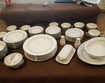 "Vintage Noritake China ""Crestmont"" 6013 - Lot of 60"