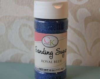 Ck Sanding Sugar Royal Blue 4oz